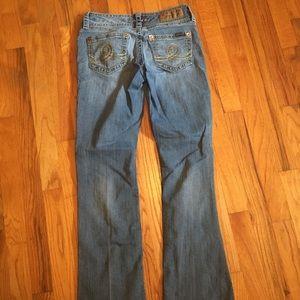 Seven7 Bootcut blue Jeans